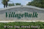 VillageWalk community sign